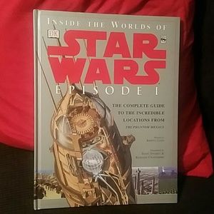 Star wars inside the world book Large full-color